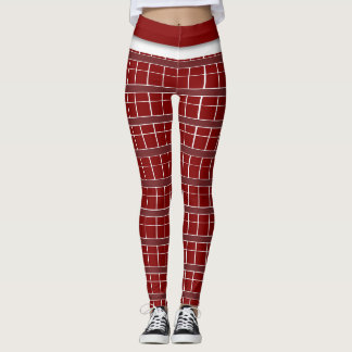 Brick Design Leggings