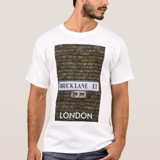 Brick Lane E1 Sign London T-shirt