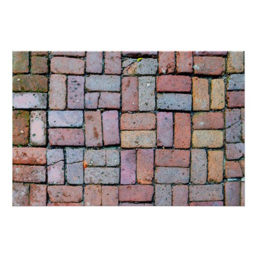 Brick Path Posters