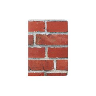 Brick Pattern Passport Holder