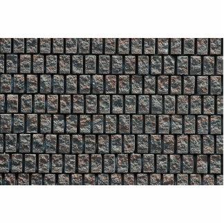 Brick pattern texture acrylic cut outs