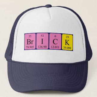 Brick periodic table name hat