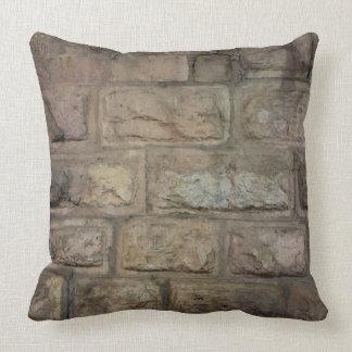 "Brick Polyester Throw Pillow 20"" x 20"""