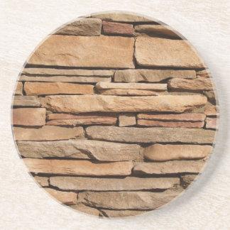 Brick, Rock, Stone Series---Layered Stone Coaster