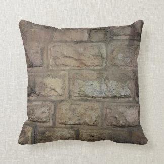 """Brick Throw Pillow, Throw Pillow 16"""" x 16"""""""