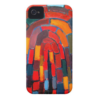 Brick Vault (abstract naive pattern ) iPhone 4 Case-Mate Case