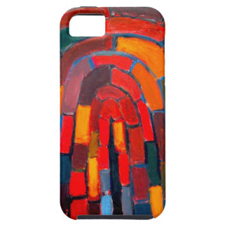 Brick Vault abstract naive pattern iPhone 5 Cover