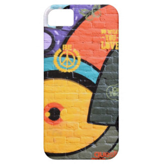 Brick wall Amsterdam Graffiti photograph iPhone 5 Case