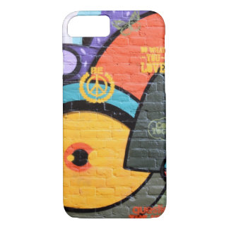 Brick wall Amsterdam Graffiti photograph iPhone 7 Case