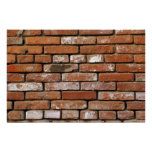 Brick Wall Background Poster
