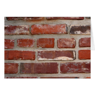 Brick wall brick texture customize the words card