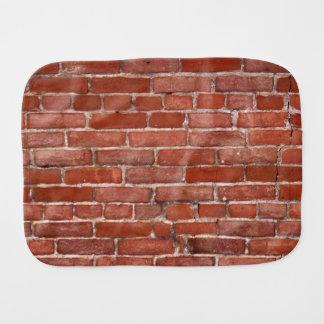 Brick Wall Burp Cloth