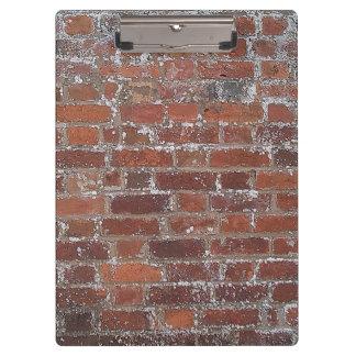 Brick Wall Clipboard