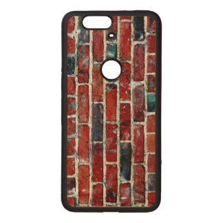 Brick Wall Cool Texture Wood Nexus 6P Case