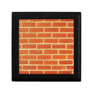 Brick wall gift box