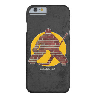 Brick Wall Goalie Barely There iPhone 6 Case