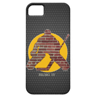 Brick Wall Hockey Goalie Case For The iPhone 5