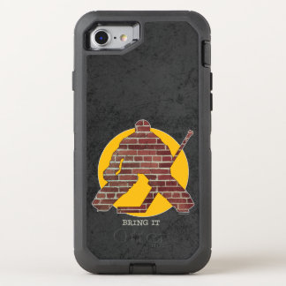 Brick Wall Hockey Goalie OtterBox Defender iPhone 7 Case