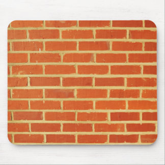 Brick wall mouse mat