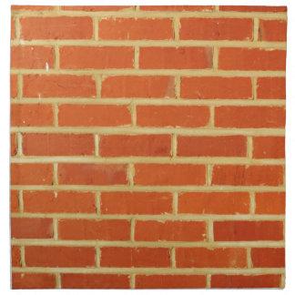 Brick wall napkin