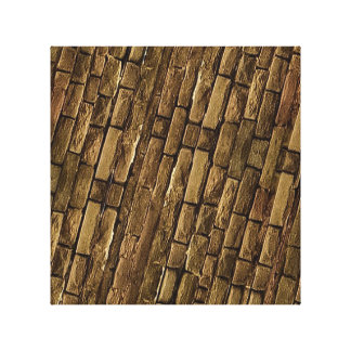 Brick Wall Pattern Stretched Canvas Prints