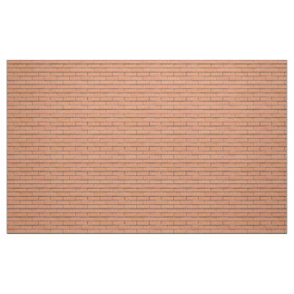Brick wall pattern fabric