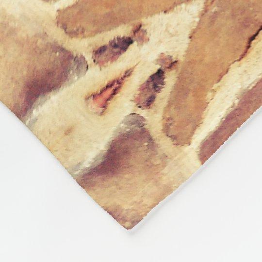 Brick Wall Pattern Fleece Blanket