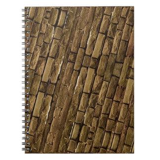 Brick Wall Pattern Notebook