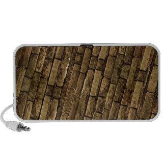 Brick Wall Pattern PC Speakers