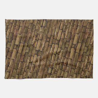 Brick Wall Pattern Hand Towels