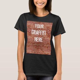 Brick Wall Personalized Graffiti Shirt
