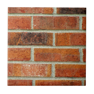 Brick Wall Texture Small Square Tile