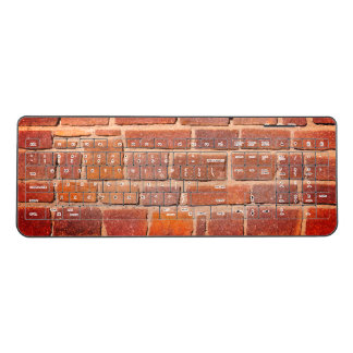 Brick Wall Wireless Keyboard