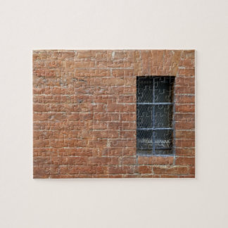 Brick wall with a typical pattern. The wall was Jigsaw Puzzle