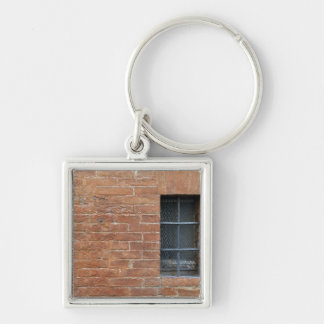 Brick wall with a typical pattern. The wall was Key Ring