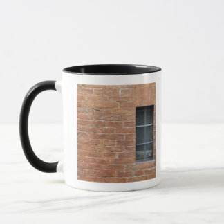 Brick wall with a typical pattern. The wall was Mug