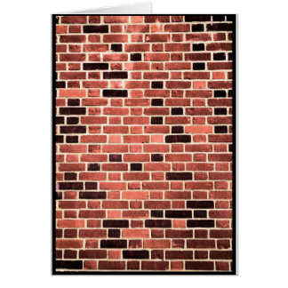 Brick Work Card