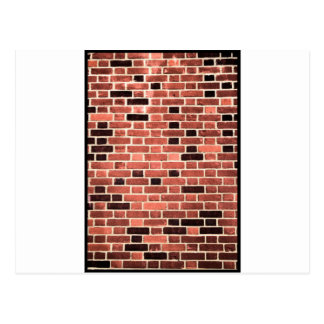 Brick Work Postcard