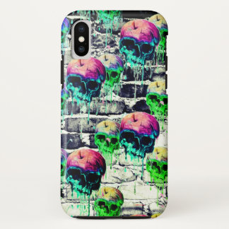 bricked out apple skulls iPhone x case