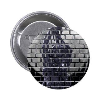 Bricks 6 Cm Round Badge