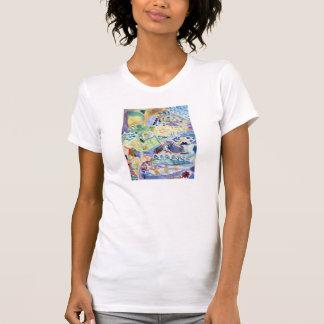 Bricks Abstract Art Women's T-Shirt