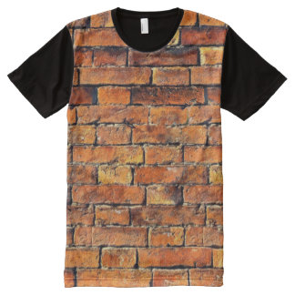 Bricks All-Over Print T-Shirt