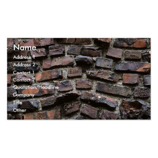 Bricks & Cement or mortar Business Card