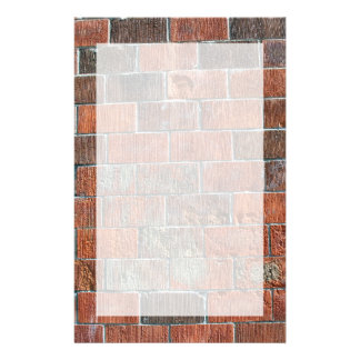 bricks custom stationery