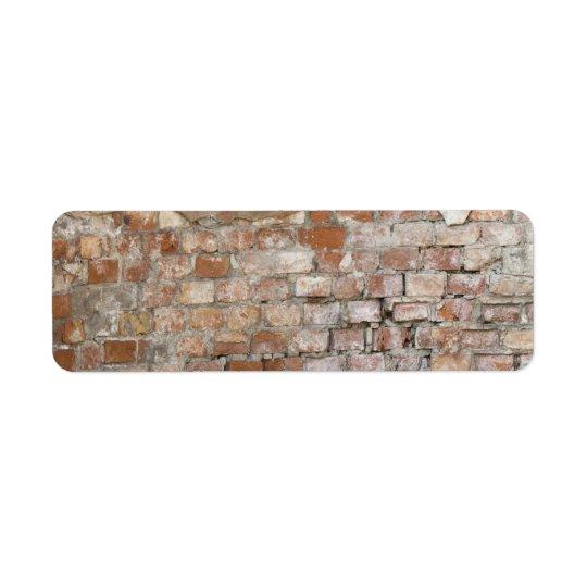 Bricks old wall