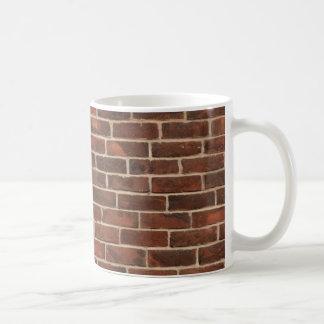 Bricks Pattern Basic White Mug