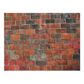 bricks postcard