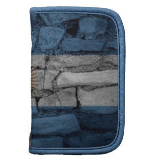 Bricks Wall Argentina flag Planner
