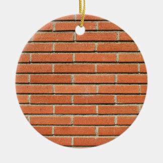 Bricks Wall Christmas Ornament