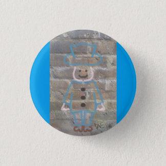 Brickwork graffiti badge